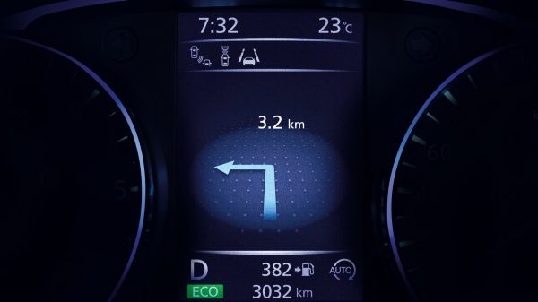 монитор помощи водителю