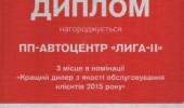 Дипломы Автоцентра ЛИГА - ІІ (4/27)