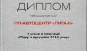 Дипломы Автоцентра ЛИГА - ІІ (5/27)
