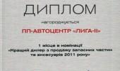 Дипломы Автоцентра ЛИГА - ІІ (16/27)