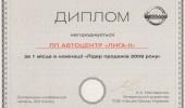 Дипломы Автоцентра ЛИГА - ІІ (21/27)