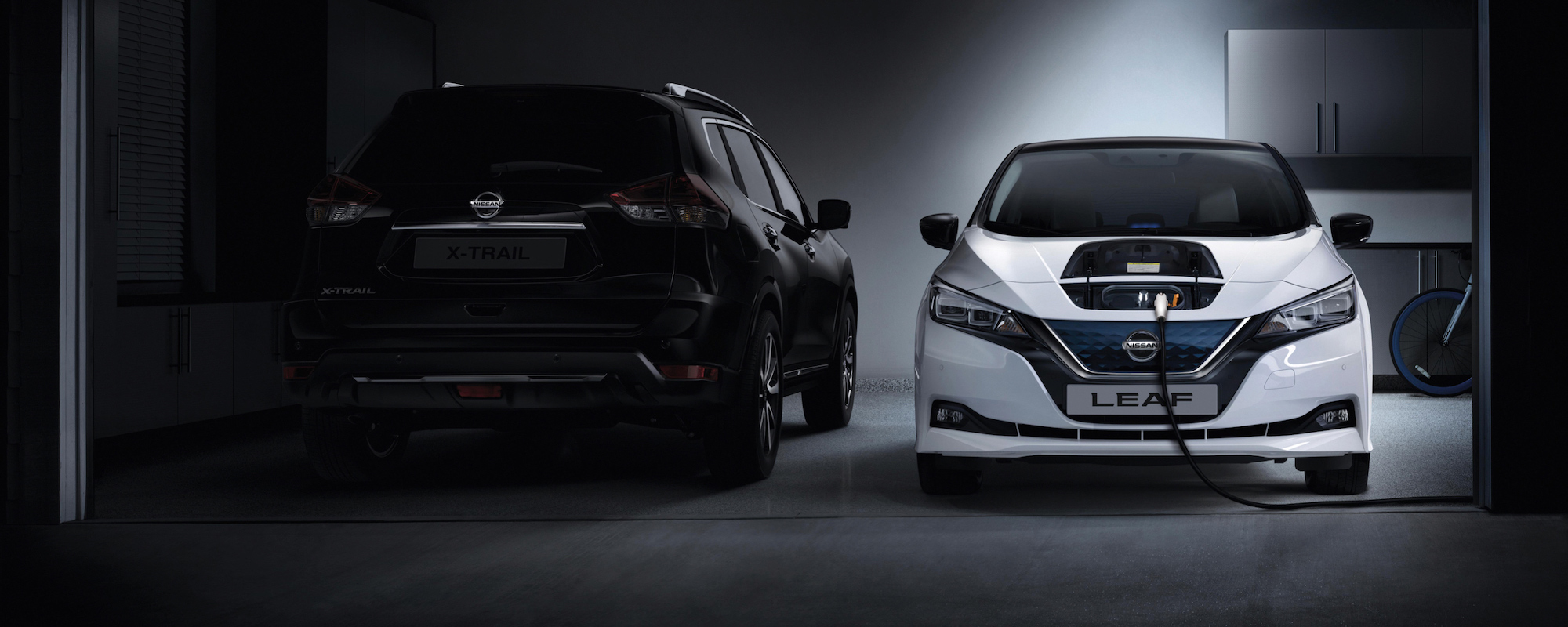 nissan-Leaf-charging-in-a-private-garage
